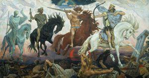 Victor Vasnețov - Cei patru cavaleri ai Apocalipsei (sursa)