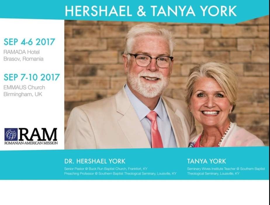 HERSHAEL & TANYA YORK at Emmaus Church Birmingham, UK.