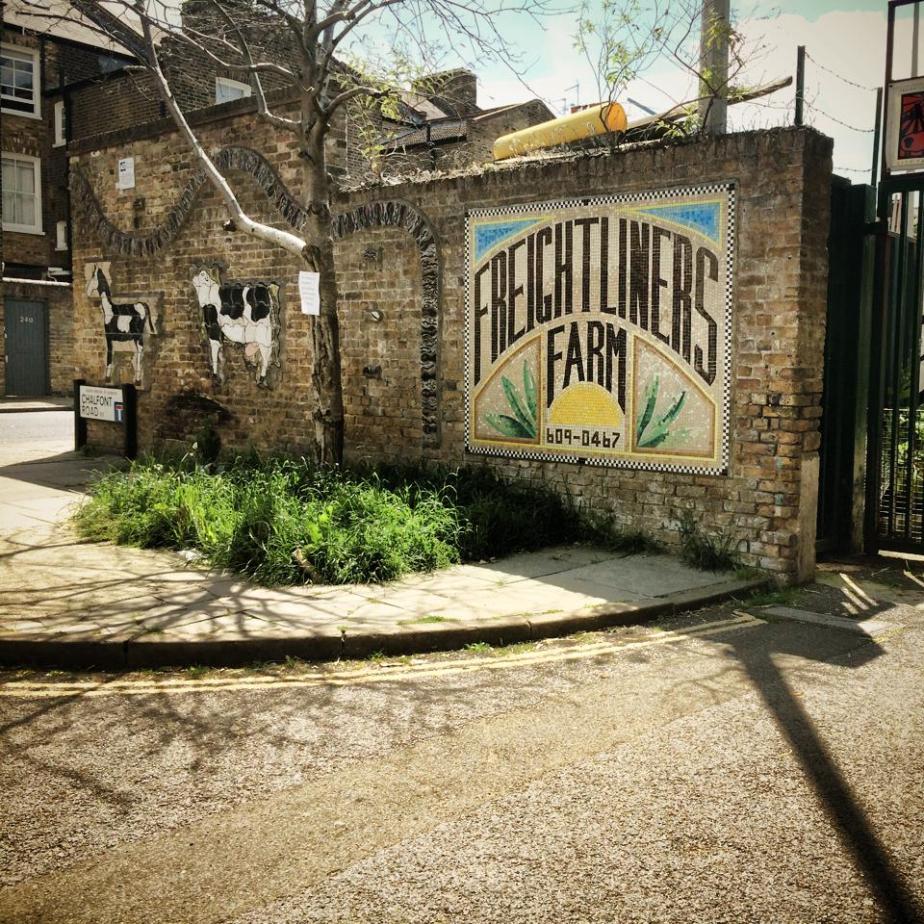 Freightliners Farm | Ferma  urbana pentru familii / copiiLondra